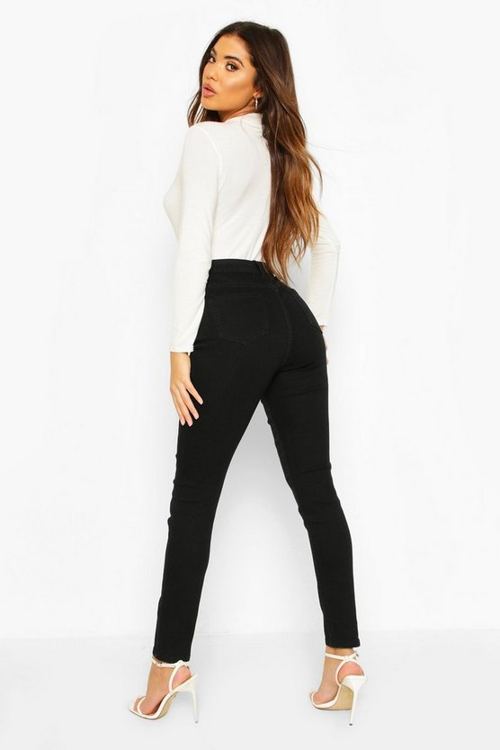 2 Pack High Rise Skinny Jeans