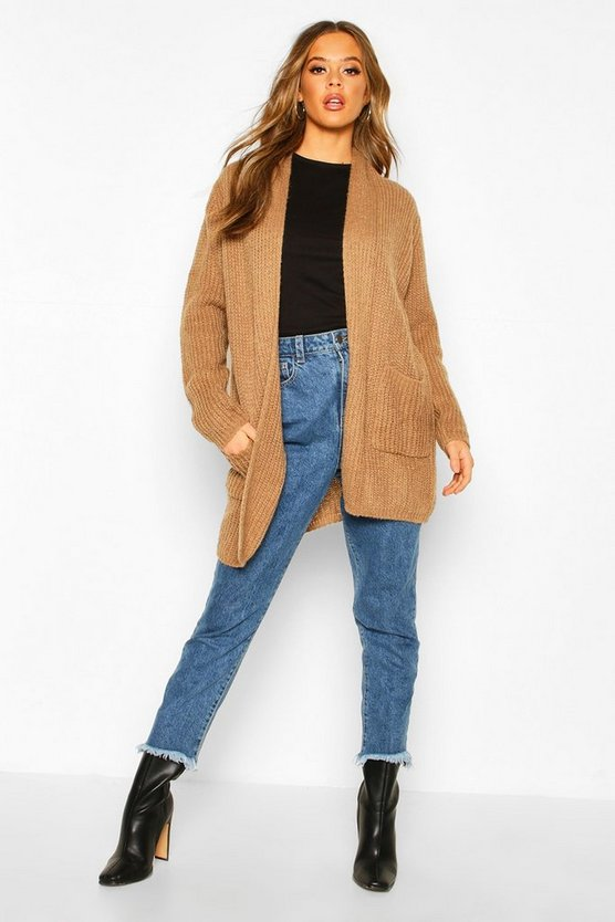 Chunky Knit Maxi Cardigan