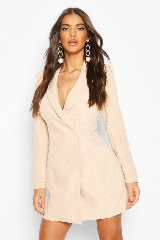 Pearl Tailored Blazer Dress