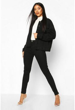 Black High Rise Premium Disco Jean