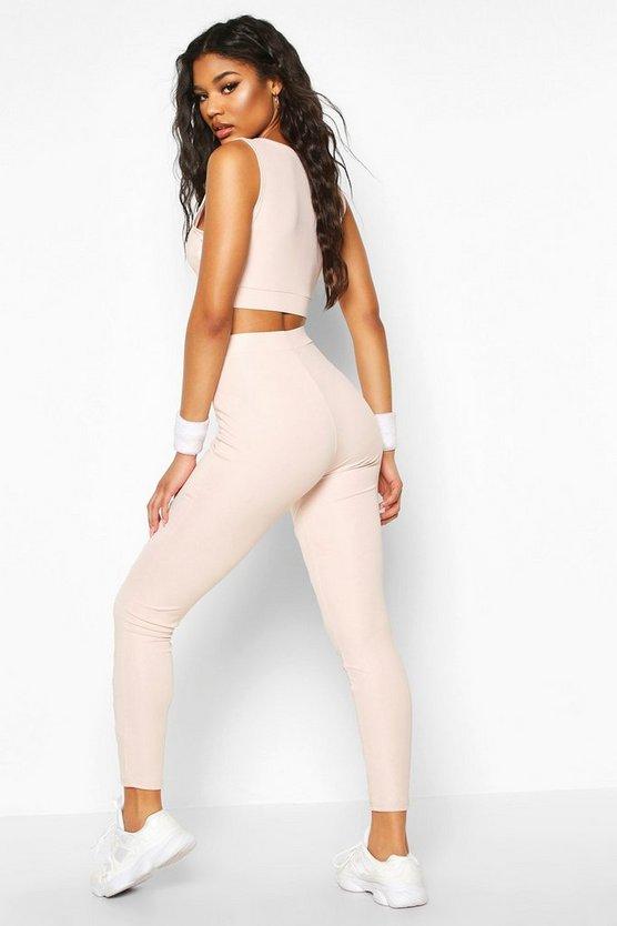 Fit Lace Up Yoga Leggings