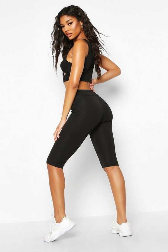 Fit Lace Up Waist Cycling Short