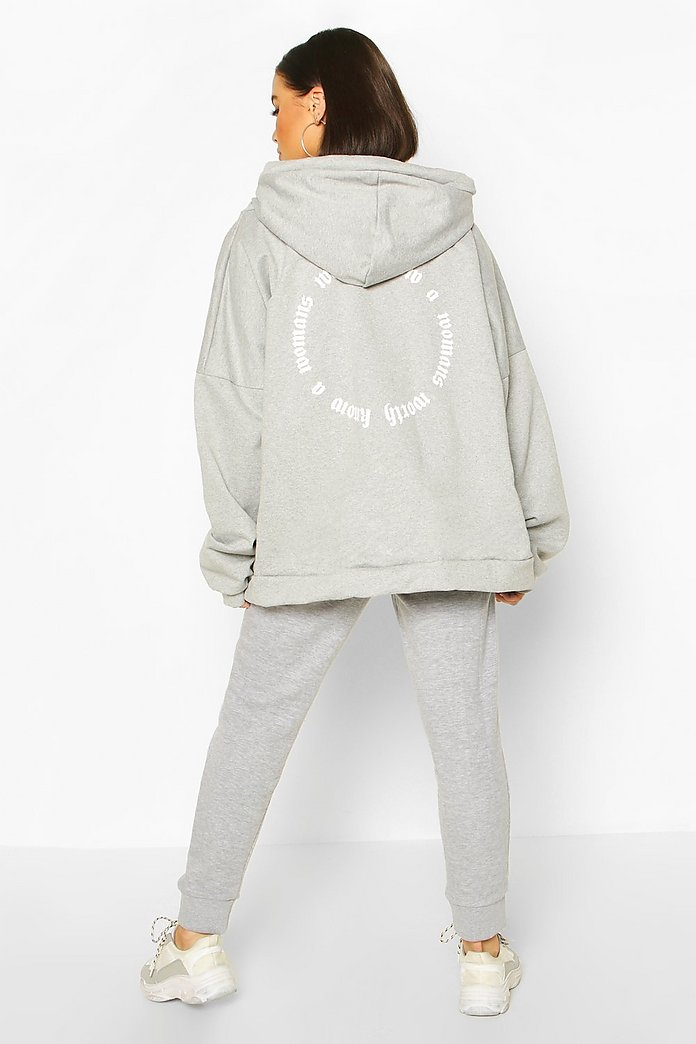 Extremt oversize hoodie