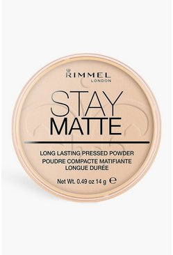 Cream Rimmel London Stay Matte Powder Peach Glow
