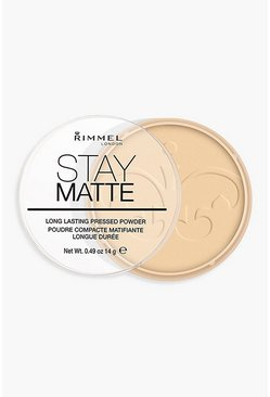 Womens Cream Rimmel London Stay Matte Powder Transparent