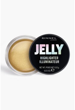 Gold Rimmel London Jelly Highlighter Poppin Bottles