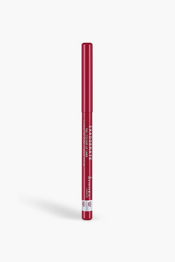 Rimmel London Exaggerate Lip Liner Red Diva