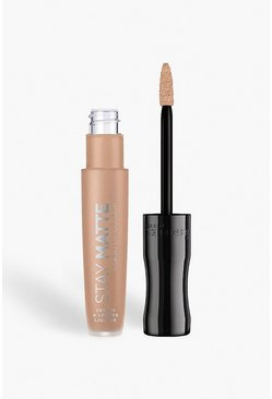 Womens Nude Rimmel London Stay Matte Liquid Lip - Stripped