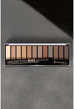 Rimmel Pan Ombretti 12 Pallet Nude Edition, Color carne, Femmina