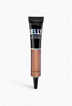 Rose gold Rimmel London Jelly Glitter Gel 300
