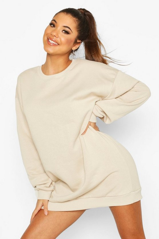 The Basic Mix & Match Oversized Sweat Dress