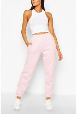 Joggings oversize à coordonner The Basic, Blush, Femme