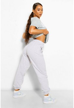 Der grundlegende Mix &Match Oversized Jogginghosen, Grau