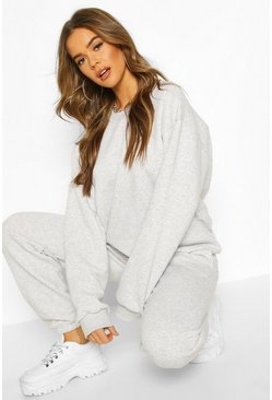 Grey The Basic Mix & Match Oversized Sweat