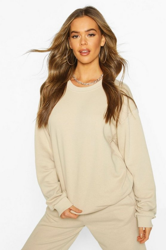 Sand The Basic Mix & Match Oversized Sweat