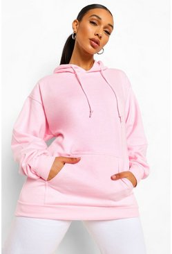 The Basic Mix & Match Oversized Hoodie, Blush