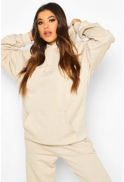 Sand The Basic Mix & Match Oversized Hoodie