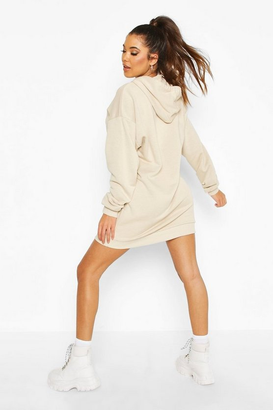 The Basic Mix & Match Oversized Hoodie Dress