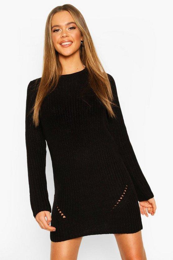 Rib Knitted Midi Dress