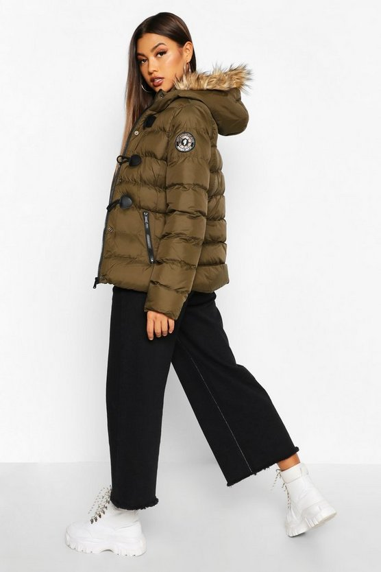 Short Quilted Puffer Jacket
