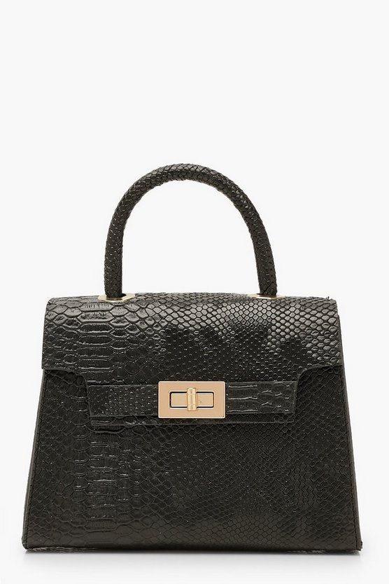 Snake Small Tote Bag
