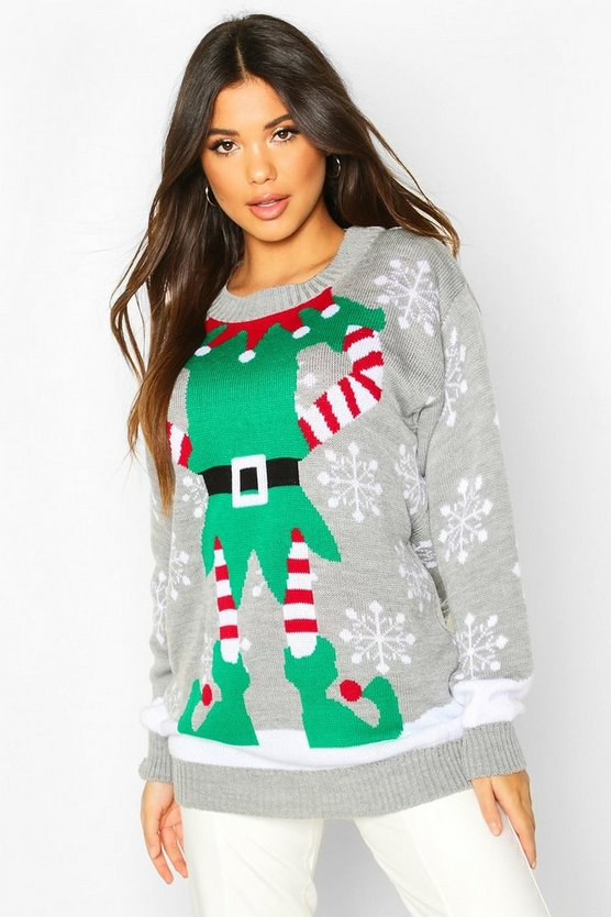 Christmas Mrs Elf Jumper