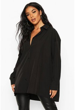 Black Extreme Oversized Shirt