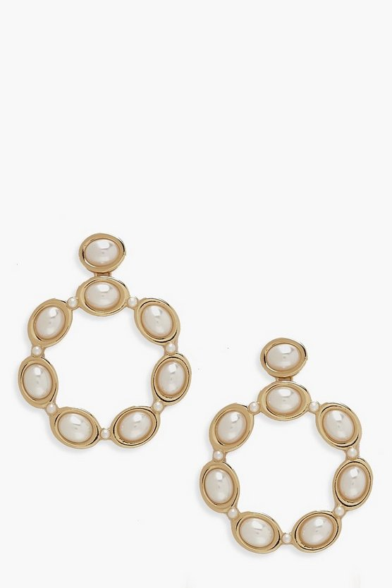Statement Pearl Earrings