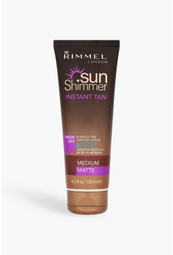 Rimmel Sunshimmer resistente all'acqua marrone opaco, Marrone chiaro, Femmina