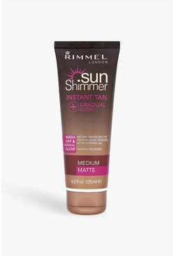Womens Rimmel Sunshimmer Instant Tan Medium Matte