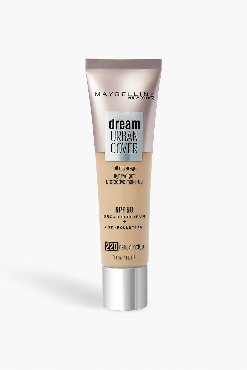 womens maybelline urban foundation 220 natural beige - one size