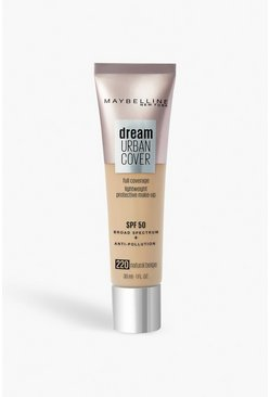 Maybelline Urban Foundation 220 Beige Natural, Beis
