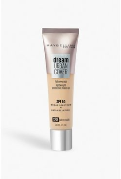 Maybelline Urban Foundation 128, Warm Nude, Beige