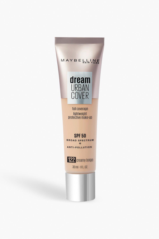 womens maybelline urban foundation 122 - creamy beige - one size