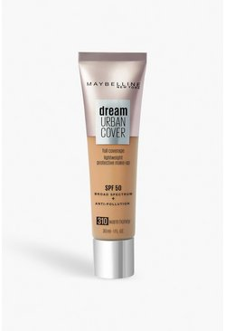 Maybelline Urban Foundation 310, Warm Honey, Beige