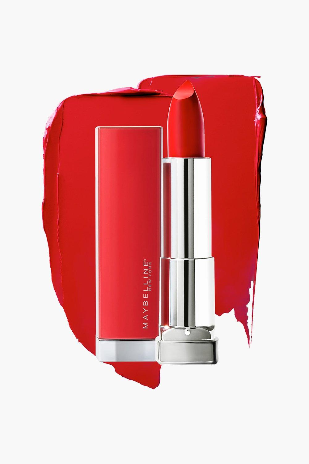 womens maybelline made for all lipstick 382 red - one size