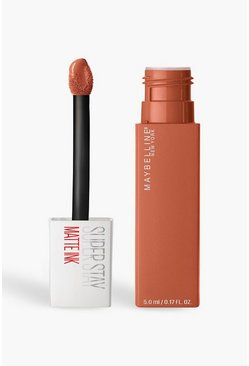 Maybelline Superstay Liquid Lip 75 Fighter, Color carne