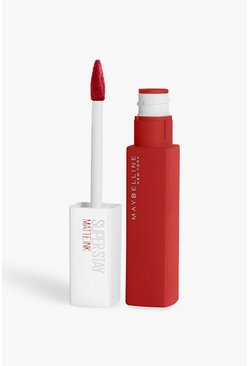 Womens Red Maybelline Superstay Liquid Lip 150 Dancer