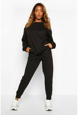 Black Skinny Sweat Jogger