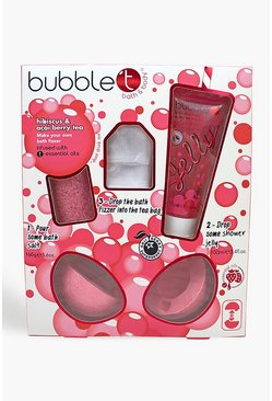 Bubble T Make Your Own Bath Bomb Fizzer, Pink, MUJER