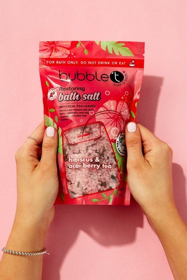 Pink Bubble T Hibiscus & Acai Berry Tea Bath Salts