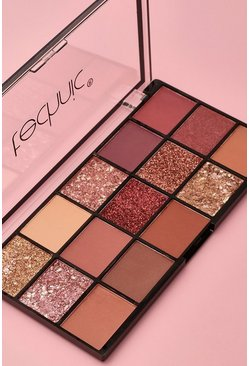 Technic 15 Eyeshadow Palette - Invite Only, Nude
