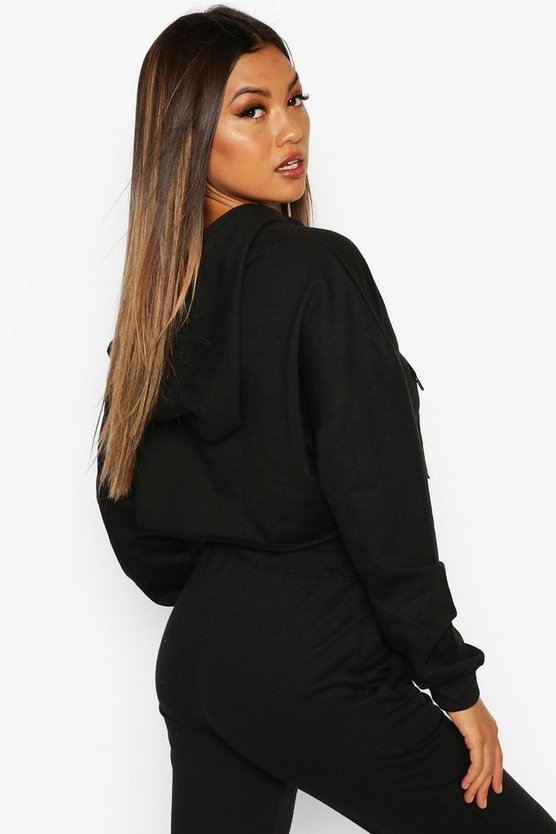 The Basic Cropped Hoody