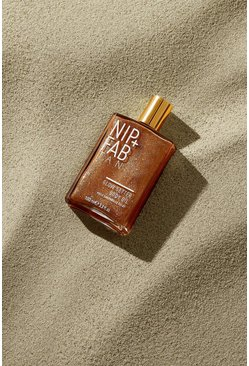 Womens Tan Nip + Fab Tanning Glow Body Oil 100ml