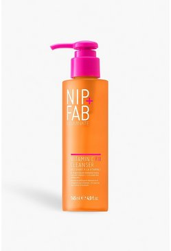 Womens Orange Nip + Fab Vitamin C Wash 145ml