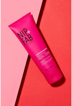 Womens Pink Nip + Fab Salicylic Fix Facial Scrub 75ml