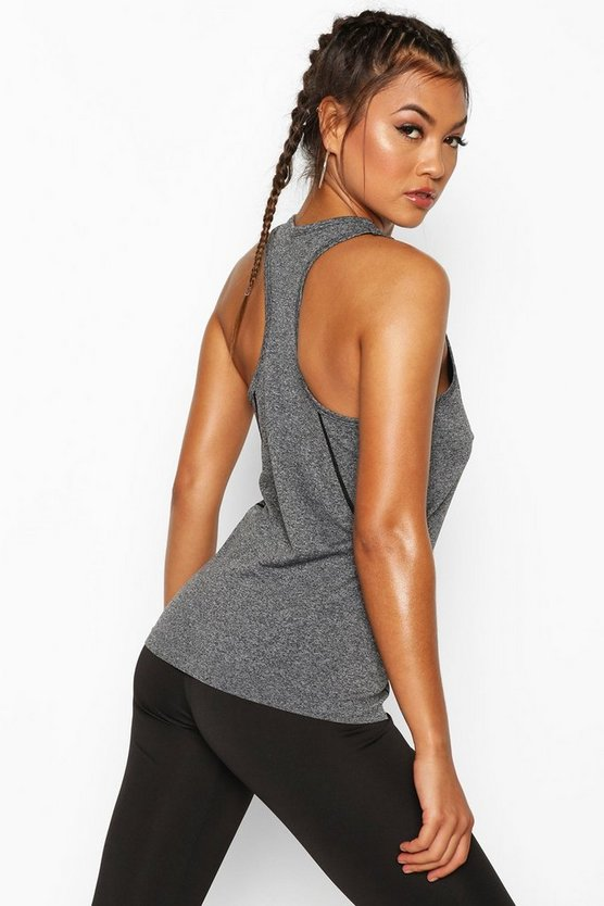 Fit Soft Marled Gym Vest