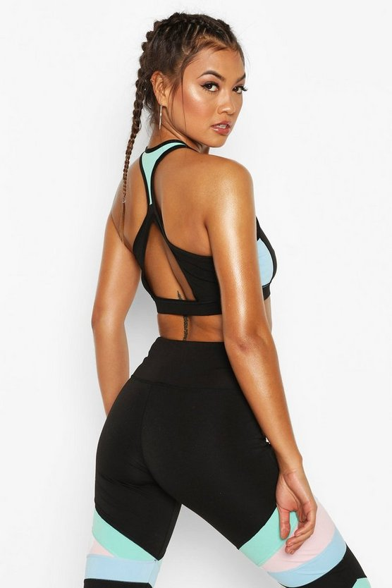 Fit Open Back Sports Bra