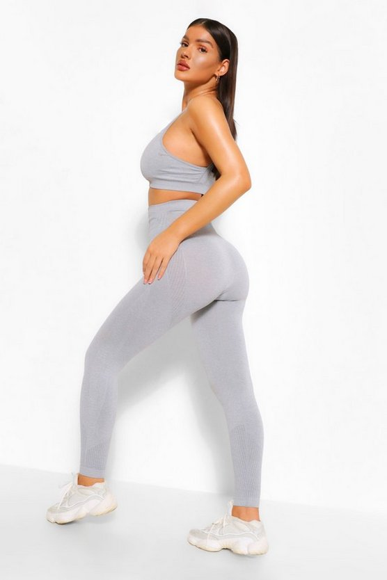 Fit Supportive Waistband Seamless Leggings