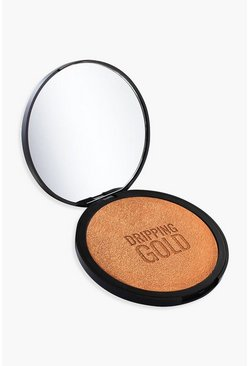 Womens Tan SOSU Dripping Gold Illuminating Bronzer